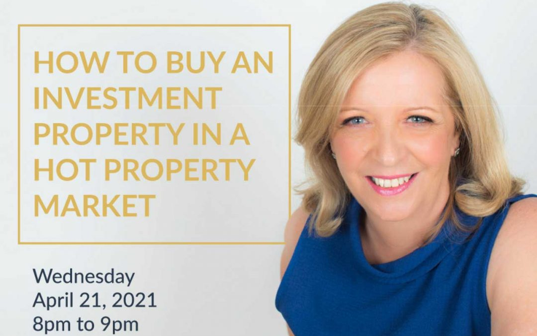 Facebook Live: How to buy an investment property in a hot property market