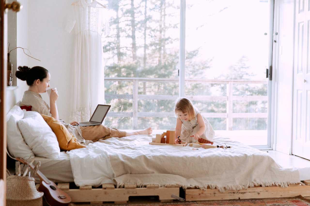 How to raise a family and build a successful business
