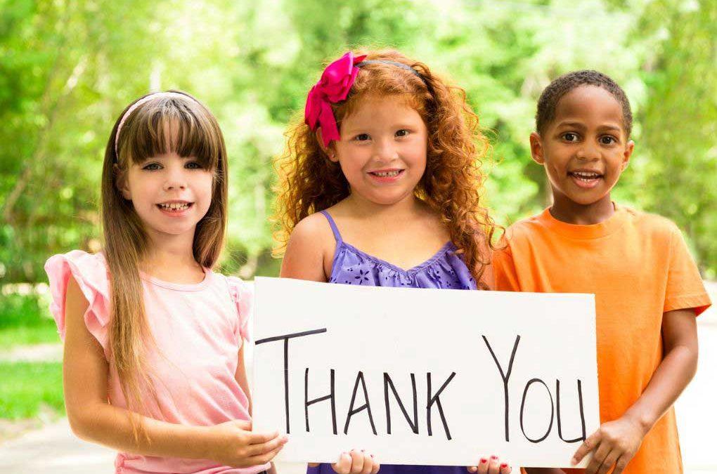 Fostering an attitude of gratitude