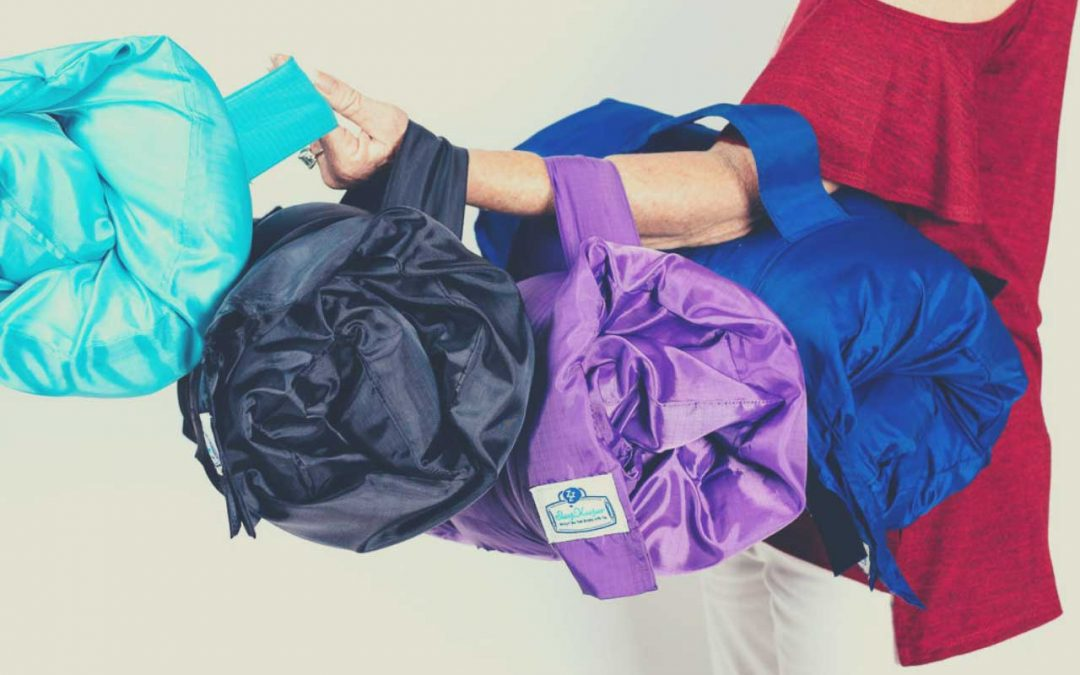 Travel light… with your own full-sized pillow